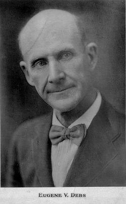 eugene v debs essay example American socialist eugene v debs (1855–1926) provides a case study for how a servant-leader might use discursive resistance as a tactic robert greenleaf (1977 [2002]) introduced the idea of the servant-leader in the modern organization in his foundational essay, 'the servant as leader.