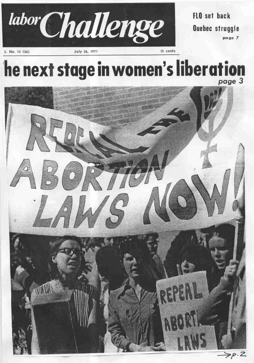 Abortion as women s right