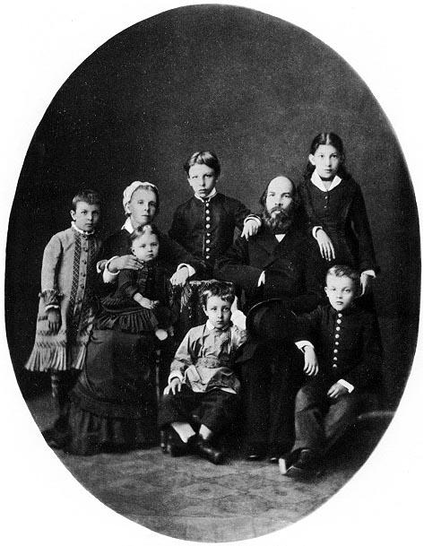 Vladimir Lenin Family