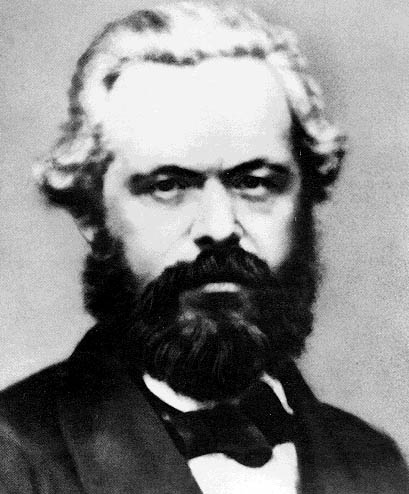 Timeline of Karl Marx
