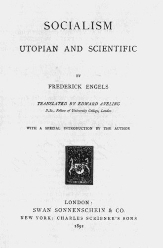 The Mark By Frederick Engels 1892