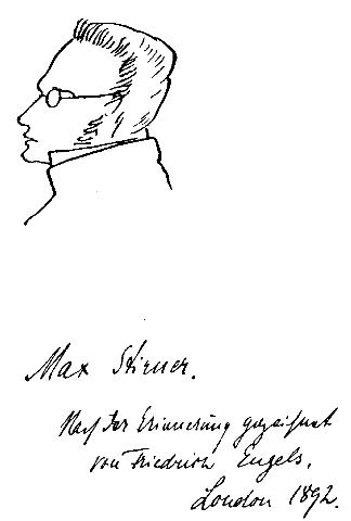 sketch of max stirner by engels 1892