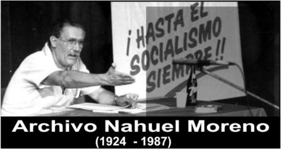 Image result for Nahuel Moreno, images