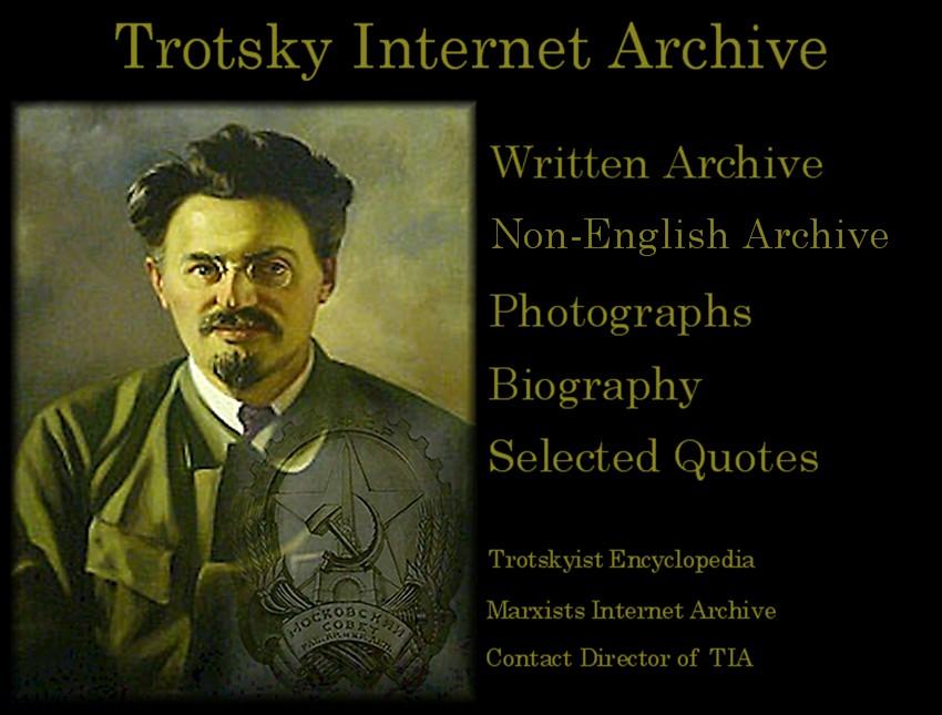 Leon Trotsky Internet Archive