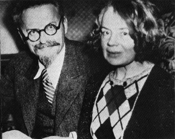 Trotski - Natalia Sedova