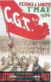 Affiche CGT