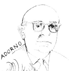 drawing of adorno