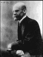Emile Durkheim, prominent sociologist of the 20th century