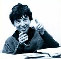 agnes heller gesticulating with enthusiasm