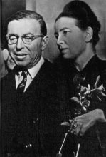 sartre and debeauvoir together