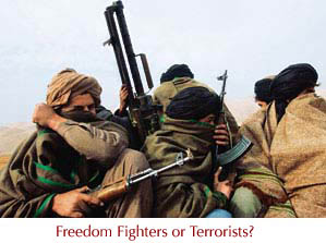 "terrorists or freedom fighters From al-qaeda terrorist to cia ""freedom fighter"": one man's journey from europe to libya in the bloody terror-fueled conflicts that have been waged by the us and nato in libya and syria, one man has helped to recruit so-called ""freedom fighters"" and unleash them on those countries' innocent civilians."