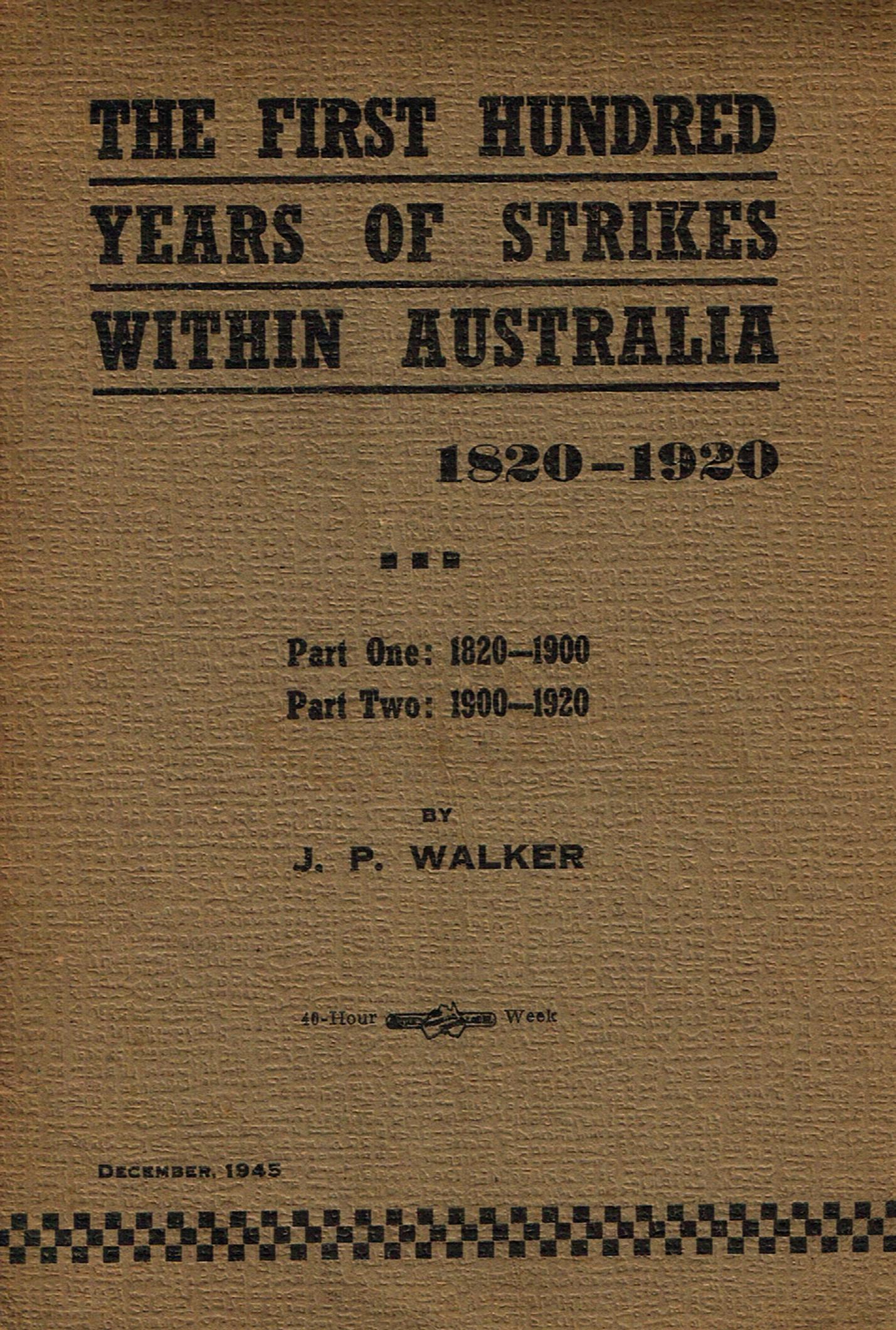 Federal Gazette Australia Firstyears