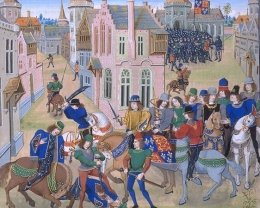 The murder of Wat Tyler