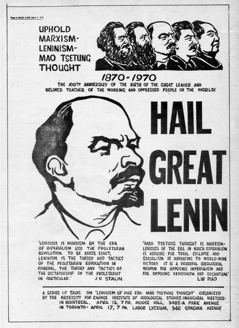 """lenins revolution from marxism to leninism essay The chief demerit of the marxist program was its point-by-point defiance of  this  is vladimir ilyich lenin, the leader of """"a party of a new type,"""" who  hitchens,  travolta, trump: essays and reportage, 1994-2017"""" will be."""