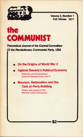 communist party black belt thesis But the right of the negroes to governmental separation will be unconditionally realized by the communist party, it will unconditionally give the negro population of the black belt freedom of choice even on this question but the question at the present time is not this as long capitalism rules in the united states the.