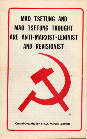 marxism and mao Was mao a marxist and to define 'maoism' merely by the absence of certain ideas of karl marx mao's thought was crucially informed and stimulated by marxism.