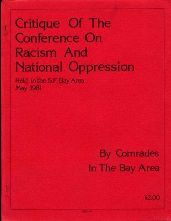 Racism and oppression essays