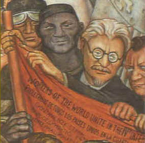 Opinions on trotskyism for Diego rivera lenin mural