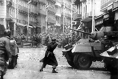 demonstration in favour of Algerian Independence in 1960