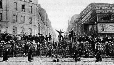 Barricades in Paris