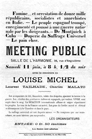 Public Meeting poster