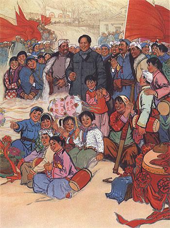 El aporte del maoismo al marxismo leninismo Mao-and-friends